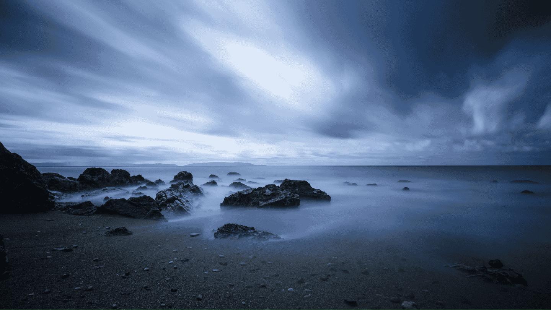 beach at sunrise lagom digital web design agency